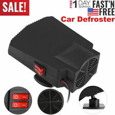 Portable 360°Car Defroster Demister Electric Heater Warmer Cooling Fan 12V 250W