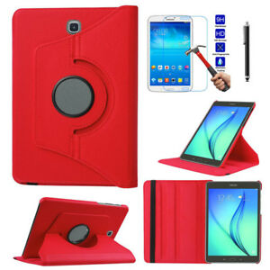 360° Rotating Leather Stand Tablet Case Cover For Samsung Galaxy Tab 4 E S6 lite