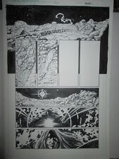 George Perez ORIGIN PAGE ART Original Solus 1 Pg #8 Pencil & Ink CGE 2002 NICE!
