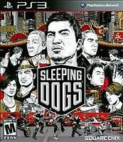 Sleeping Dogs (Sony PlayStation 3, 2012)  COMPLETE     FAST SHIPPING !!   PS3
