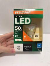 Sylvania 79288 Bulb LED Ultra PAR16 GU10 6W 50W 450L 3000K NIB