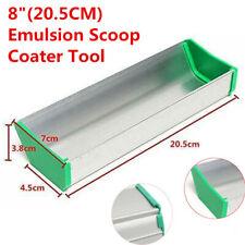Hot 8 Inch Emulsion Scoop Coater Silk Screen Printing Aluminum Coating Tool