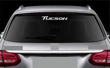 Rear Window Sticker fits Hyundai Tucson Vinyl Decal Emblem Sticker Logo RW27