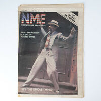 NME magazine 4 July 1981 Kid Creole cover Bruce Springsteen Bob Dylan