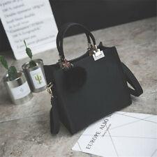 Leather Lady Shoulder Tote Messenger Bags Purse Crossbody Satchel Women Handbag