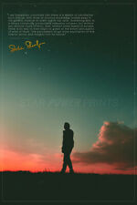 Alexander Shulgin 'Sasha' quote poster print photo - Pre Signed -12 x 8 inches