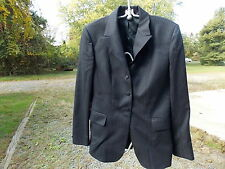 PYTHLEY ENGLISH SHOW JACKET LADIES  SEE MEASUREMENTS NO SIZE NAVY BLUE PIN