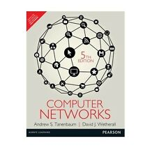 Computer Networks by David J. Wetherall and Andrew S. Tanenbaum