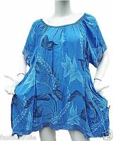 Tunique 44 46 48 50 grande taille Femme vêtement haut ample paillette nouveauté