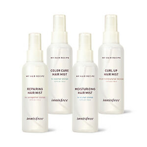 [INNISFREE] My Hair Recipe Hair Mist - 150ml / Free Gift