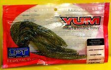 "Yum 6"" Watermelon Gold Flake Houdini Worm 15 Lures per Pack  YHW670"