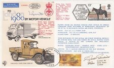 C69cB London 1980 by Motor Vehicle Double Signed with Canadian 'Curtiss HS -2L'