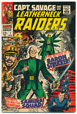 Marvel Capt. Savage and His Leatherneck Raiders Issue #2 Comic Book 4.0 VG 1968