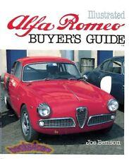 Alfa Romeo Book Buyers Manual Guide Benson Buyer'S Illustrated (Fits: Alfa Romeo)