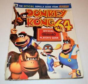 Donkey Kong Official Nintendo Power Strategy Guide Nintendo 64 N64