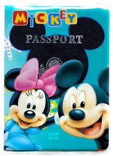 "3.5X5"" Mickey n Minnie Mouse PASSPORT COVER Holder Travel Wallet Disneyland"