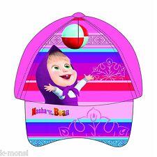 GORRA INFANTIL MASHA   EL OSO REGALO ORIGINAL NIÑOS VISERA b6e052ae164