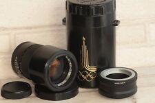 Jupiter-37A Tele lens 3.5/135mm M42 USSR dSLR Olympiad + Adapter Sony E NEX