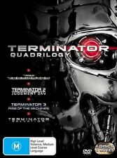 Terminator 1-4 Quadrilogy DVD NEW R4 1 2 3 4 Judgment Day, Rise of the Machines