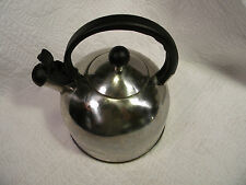 Stainless Steel 2.5 Quart Capacity Whistling Tea Kettle - Made in China