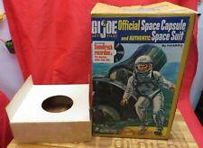 """1964 VINTAGE GI JOE JOEZETA : 1960's ORIGINAL OWNER SPACE CAPSULE """" BOX """""""