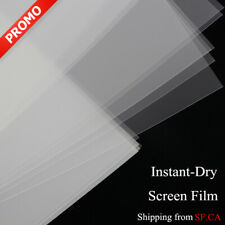 "Waterproof Inkjet Instant-dry Transparent Screen Film, 8.5"" x 11"",50 sheets"