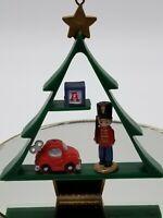 Vintage Plastic Tree Nutcracker Ornament 021