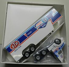 1992 STP RICHARD PETTY FAN KING 43 PONTIAC WINROSS TRACTOR TRAILER NASCAR TRUCK