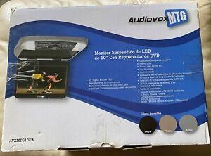 "AUDIOVOX MTG AVXMTG10UA 10"" LED OVERHEAD MONITOR DVD"