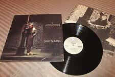 GARY NUMAN : I, Assassin - Rare LP Vinyl 33RPM - ATCO U.S.A. 1982 +INNER
