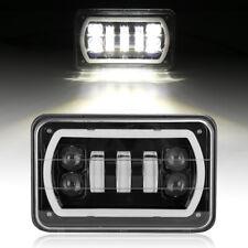 "4x6"" LED Headlights Hi-Lo Beam DRL lamp for Kenworth Peterbilt 357 379 378"