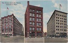 Ohio Postcard COLUMBUS c1910 THE GREEN JOYCE COMPANY STORES 3Views
