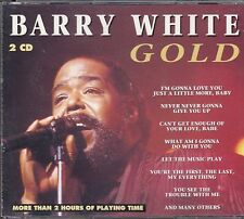 """COFFRET GOLD  2 X CD BARRY WHITE  """"I'M GONNA LOVE YOU"""""""
