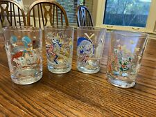 McDonalds Walt Disney World Remember The Magic 25th Anniversary Glasses 4 1996