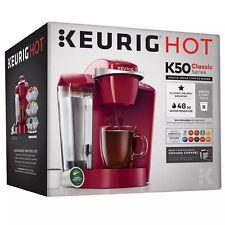 Keurig K-Classic K50 Single Serve Coffee Maker in Rhubarb