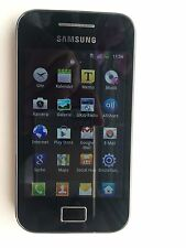 Samsung Galaxy Ace GT-S5839i - Ceramic White Handy schwarz weiß mit Zugabe