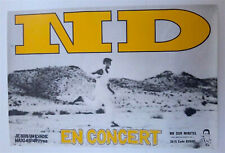 NUCLEAR DEVICE - ORIGINAL CONCERT POSTER - VERY RARE - 1988