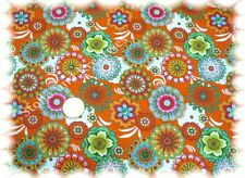 Dilara Shirt Stretch-Jersey orange Hilco 50 cm Meterware Stoff Stoffe nähen