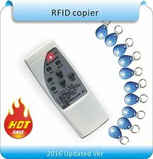 4 frequency RFID Copier/ Duplicator/ Cloner ID EM reader & writer+10pcs keyfobs