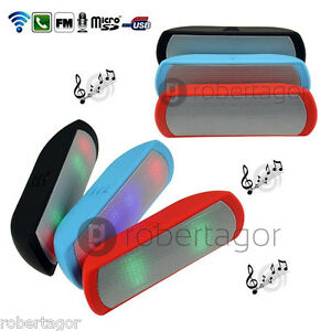 Gehäuse Bluetooth Lautsprecher Fm Tf USB Freisprecheinrichtung LED Phone Tablet
