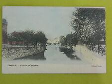 Carte postale CHARLEROI quai de Sambre ( en couleurs)