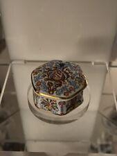 Museum Collections Ltd William Morris Pomegranate Fine Bone China Trinket Box