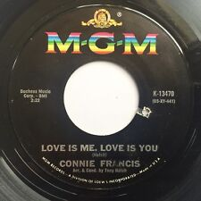 CONNIE FRANCIS Love Is You Love Is Me ORIG 1965 USA VINYL SINGLE Tony Hatch