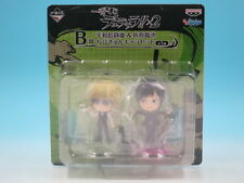 Ichiban Kuji Durarara!! x 2 B Prize Shizuo Heiwajima & Izaya Orihara Chibi K...