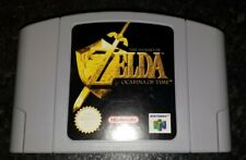 Nintendo 64 Zelda ocarina of time official N64 PAL game cart only Free Post