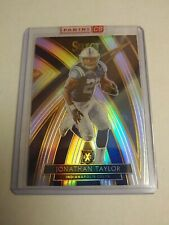 2019 Select Football Jonathan Taylor 2020 XRC Silver Prizm Colts Redeemed - Live