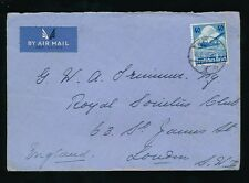 GERMANY 1936 AIRMAIL LUFTHANSA to ST JAMES LONDON 40pf SOLO FRANKING