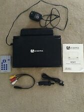 """Audiovox D1917 Portable 9"""" LCD Monitor & DVD Player Remote Cords & Manual"""
