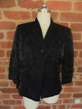 MIXIT LADIES SIZE 12 DESIGNER DRESS JACKET COAT BLACK EVENING WEDDING FORMAL