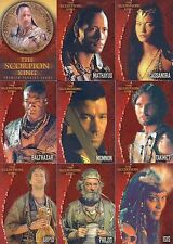 THE SCORPION KING MOVIE 2002 INKWORKS COMPLETE BASE CARD SET OF 72